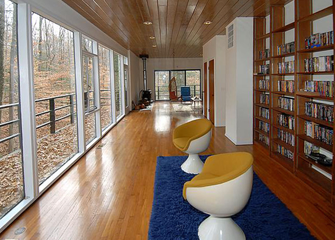 Interior of Casper Neer designed home.